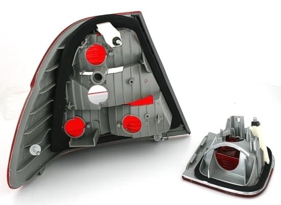2 feux arriere 2 feux de coffre bmw serie 3 e46 berline phase 2 de 10 2001 a 03 2005. Black Bedroom Furniture Sets. Home Design Ideas