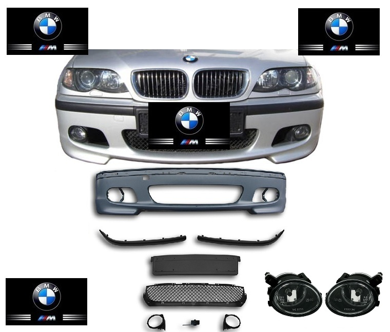 e46 berline touring 98 2005 pare choc parechoc pack m m2 bmw serie 3 2 antibrouillard. Black Bedroom Furniture Sets. Home Design Ideas