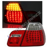 2 FEUX ARRIERE LED LOOK M3 BMW SERIE 3 E46 BERLINE PHASE 2 DE 10/2001 A 03/2005