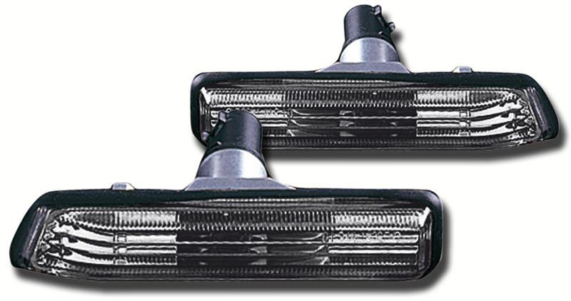 2 clignotant repetiteur bmw serie 3 e36 phase 2 95 98 noir translucide adtuning france. Black Bedroom Furniture Sets. Home Design Ideas