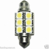 1 AMPOULE NAVETTE A 6 LED SMD POWERCHIP EN TAILLE 36 mm – ECLAIRAGE BLANC XENON – 15 POINTS LUMINEUX