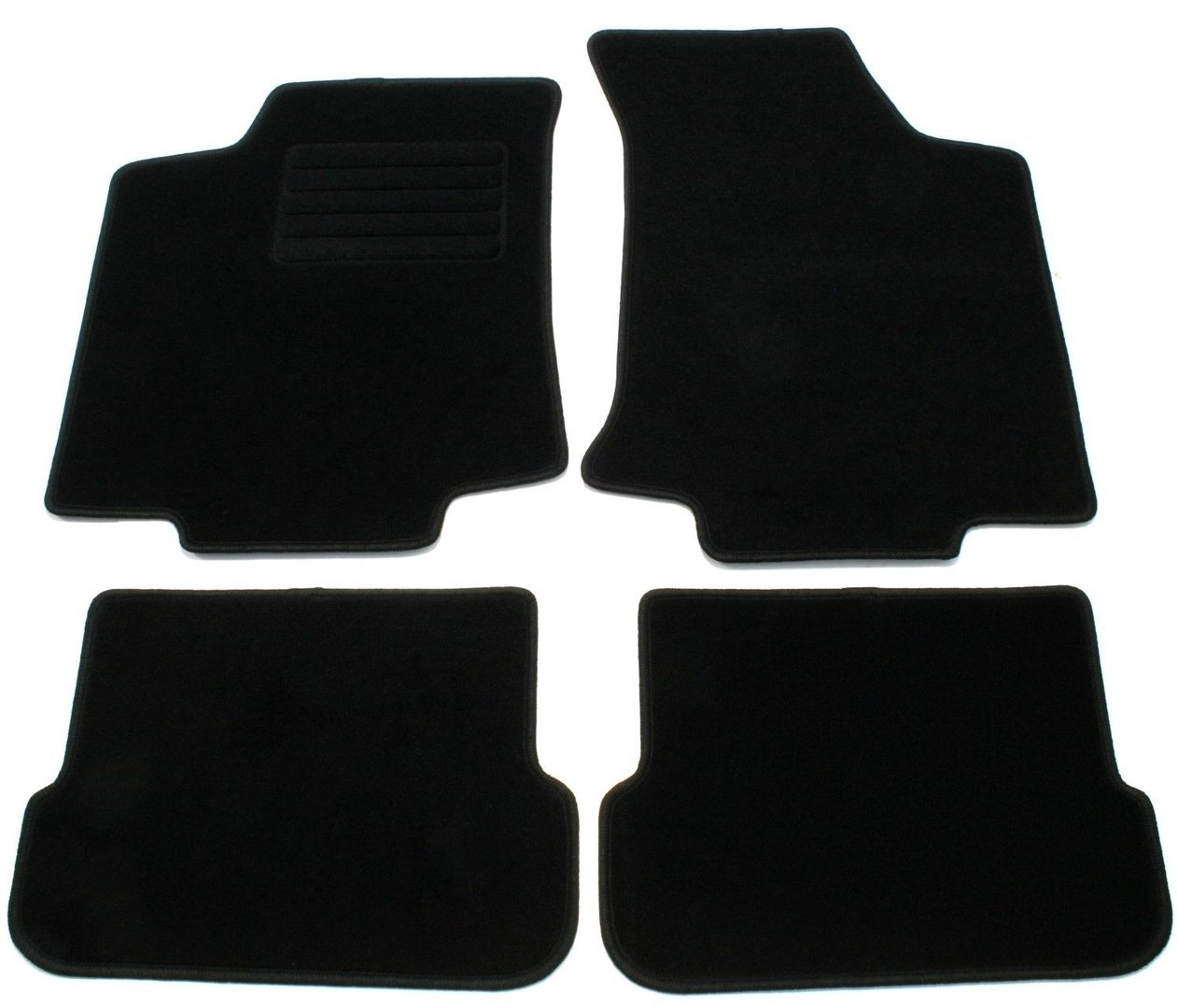 4 tapis de sol en velours pour vw golf 3 sur mesure. Black Bedroom Furniture Sets. Home Design Ideas