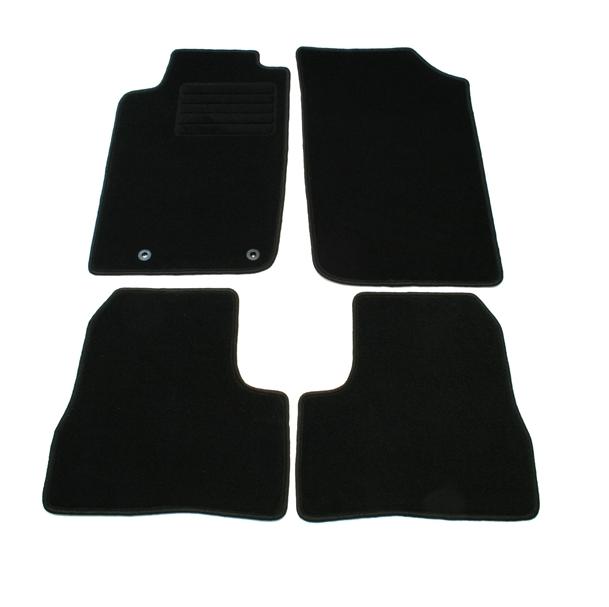 4 tapis de sol en velours sur mesure pour peugeot 206 3p 5p sw adtuning france. Black Bedroom Furniture Sets. Home Design Ideas