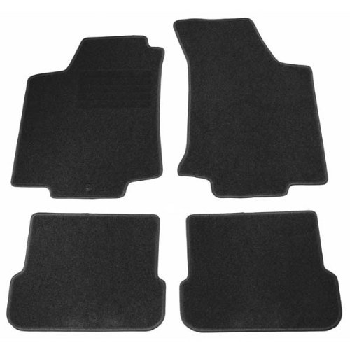 4 tapis de sol en velours sur mesure pour peugeot 307 3p. Black Bedroom Furniture Sets. Home Design Ideas