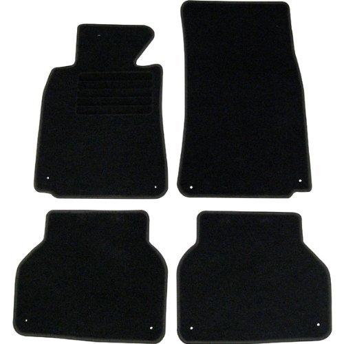 4 tapis de sol sur mesure pour bmw serie 5 e39 avec systeme de clip adtuning france Tapis de sol bmw serie 1