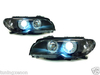 2 FEUX PHARE AVANT XENON ANGEL EYES BMW SERIE 3 E46 COUPE & CABRIOLET PHASE 2 DE 04/2003 A 2006