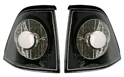 2 clignotant avant noir crystal bmw serie 3 e36 serie 3 berline et compact adtuning france. Black Bedroom Furniture Sets. Home Design Ideas