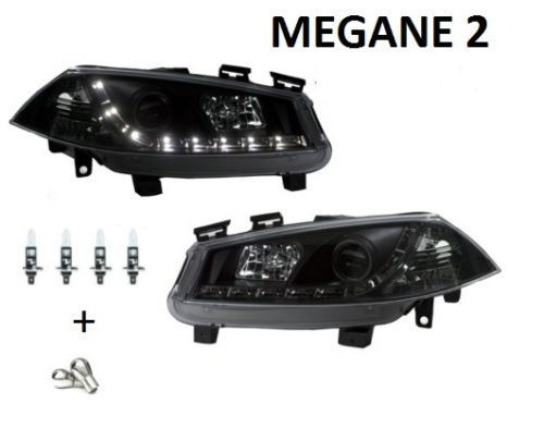 2 feux avant devil eyes pour renault megane 2 phase 1 de 09 2002 a 12 2005 adtuning france. Black Bedroom Furniture Sets. Home Design Ideas
