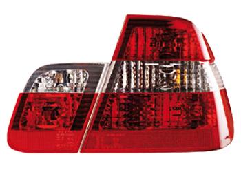 2 feux arriere bmw e46 berline 98 01 phase 1 type phase 2 4 clignotant noir adtuning france. Black Bedroom Furniture Sets. Home Design Ideas