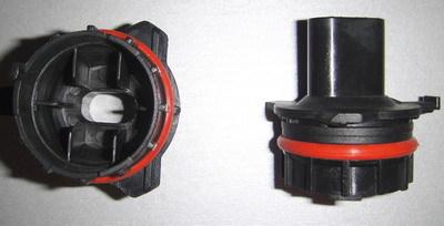 2 adaptateur porte ampoule pour kit xenon hid pour bmw serie 5 e39 phase 1 95 00 adtuning france. Black Bedroom Furniture Sets. Home Design Ideas