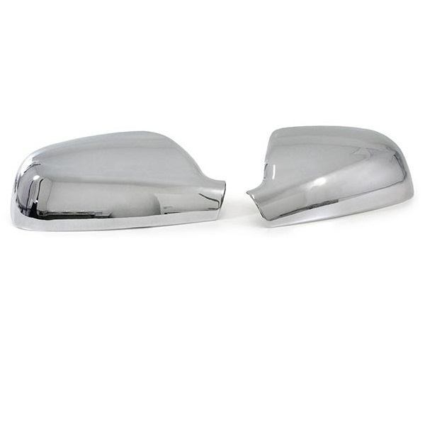 2 coque couvre retroviseur chrome pour peugeot 307 sw cc ebay. Black Bedroom Furniture Sets. Home Design Ideas