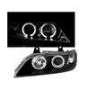 2 FEUX PHARE AVANT ANGEL EYES LED BMW Z3 NOIR COUPE ET ROADSTER