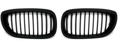 2 grille de calandre noir mat bmw e46 serie 3 coupe facelift de 04 03 a 2006 adtuning france. Black Bedroom Furniture Sets. Home Design Ideas