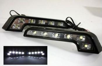 2 FEUX DE JOUR TYPE MERCEDES A 6 LED LUXEON HIGH POWER - ADTUNING FRANCE 7d345b087ad3
