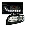 2 FEUX PHARE AVANT LED AUDI A4 8E DEVIL EYES DE 10/2000 A 11/2004