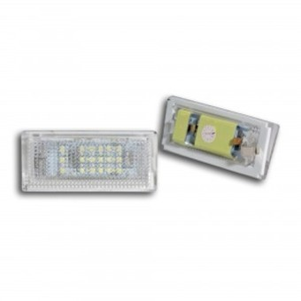 2 ECLAIRAGE PLAQUE D'IMMATRICULATION A 36 LED SMD BMW SERIE 3 E46 BERLINE TOURING PHASE 1 ET 2 98-05