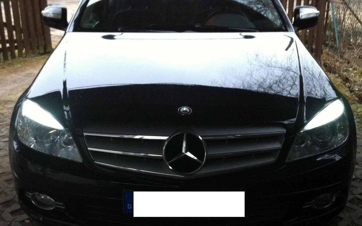 Set 14 led interieur exterieur blanc xenon pour mercedes for Mercedes classe c interieur