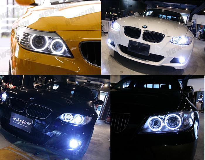 AMPOULE H8 A 4 LED CREE 40W ANGEL EYES BMW X5 X6 E92 E93 E90 E60 LCI