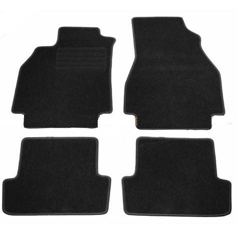 4 tapis de sol en velour sur mesure pour renault megane 2 avec systeme de clippage adtuning france. Black Bedroom Furniture Sets. Home Design Ideas