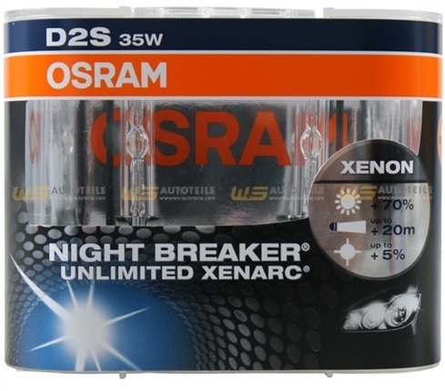 2 ampoule xenon d2s osram night breaker unlimited 70 bmw. Black Bedroom Furniture Sets. Home Design Ideas