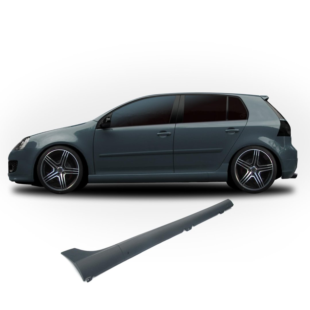 2 bas de caisse en abs type gti pour vw golf 5 3 5 portes adtuning france. Black Bedroom Furniture Sets. Home Design Ideas