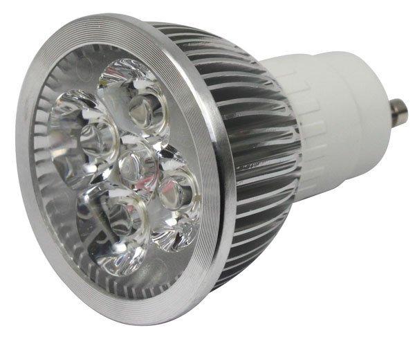 1 ampoule led maison gu10 12w 220v couleur blanc froid 6000k adtuning france. Black Bedroom Furniture Sets. Home Design Ideas