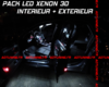 SET 15 AMPOULES MULTI LED BLANC XENON MINI COOPER R50 R53 S 2001-2006
