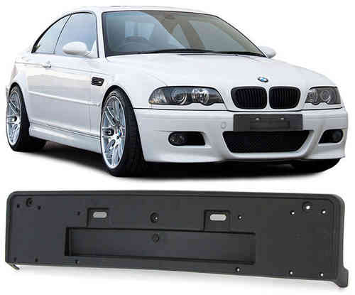 SUPPORT PLAQUE PARECHOC PARE CHOC BMW SERIE 3 E46 M3 COUPE ET BERLINE