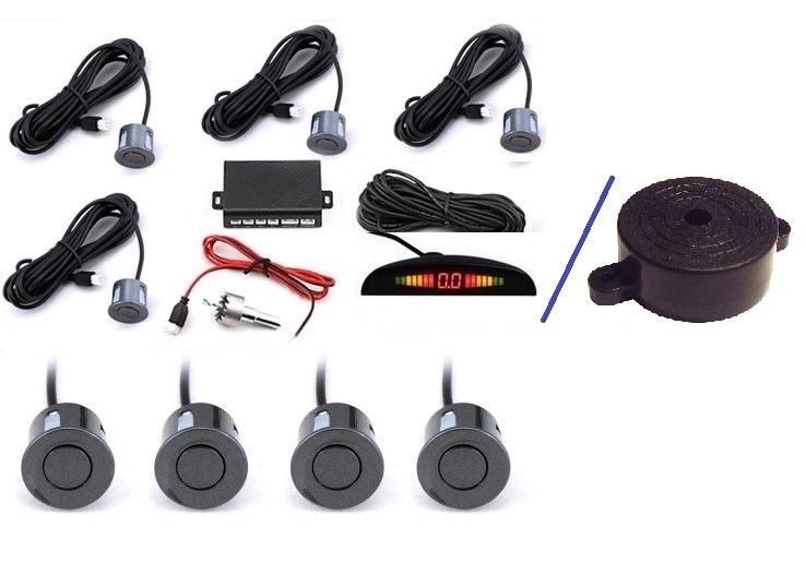kit radar de recul avec 4 capteurs couleur au choix adtuning france. Black Bedroom Furniture Sets. Home Design Ideas