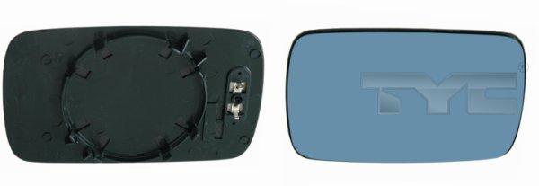 1 glace miroir chauffant retroviseur bmw serie 3 e46 98 2005 phase 1 2 berline break touring compact. Black Bedroom Furniture Sets. Home Design Ideas