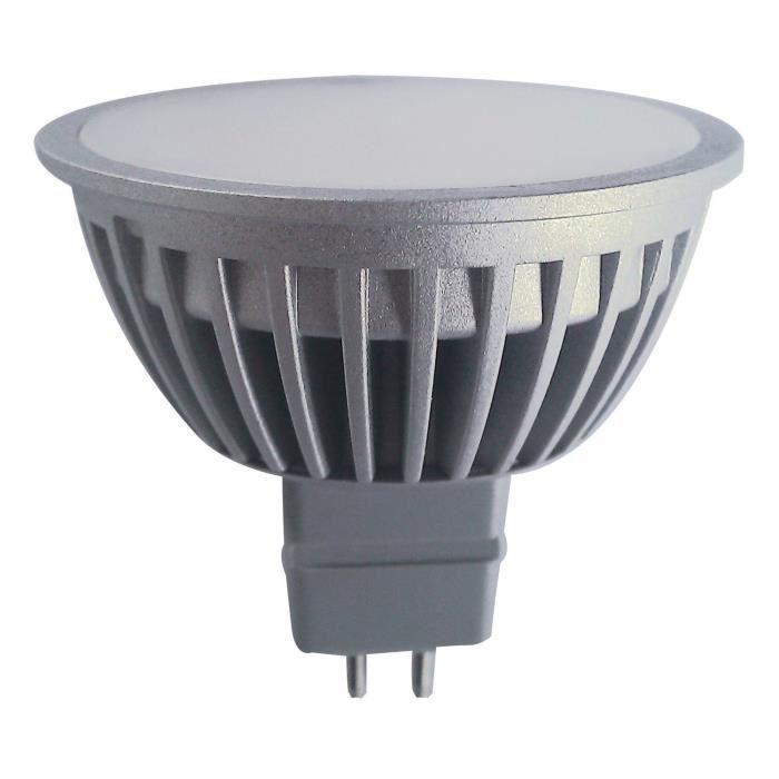1 ampoule led maison polaroid mr16 gu5 3 5w a led smd 12v couleur blanc chaud 3000k. Black Bedroom Furniture Sets. Home Design Ideas
