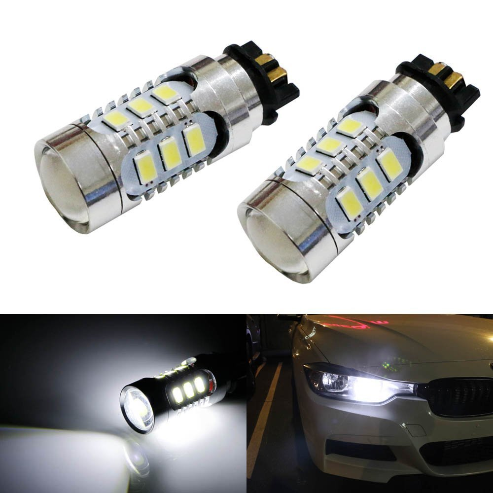 2 ampoule led en culot pw24w a 14 led pour feux de jour diurne bmw serie 3 f30 ebay. Black Bedroom Furniture Sets. Home Design Ideas