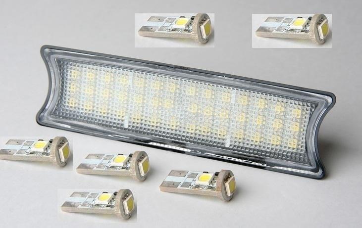 KIT 42 LED + 6 AMPOULES PLAFONNIER + SPOT AVANT ET ARRIERE BMW SERIE 3 E46 - ADTUNING FRANCE