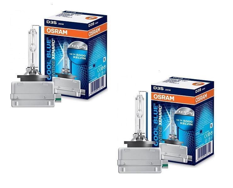 2 ampoule xenon osram d3s 5000k cool blue intense xenarc 35w 66340cbi adtuning france. Black Bedroom Furniture Sets. Home Design Ideas