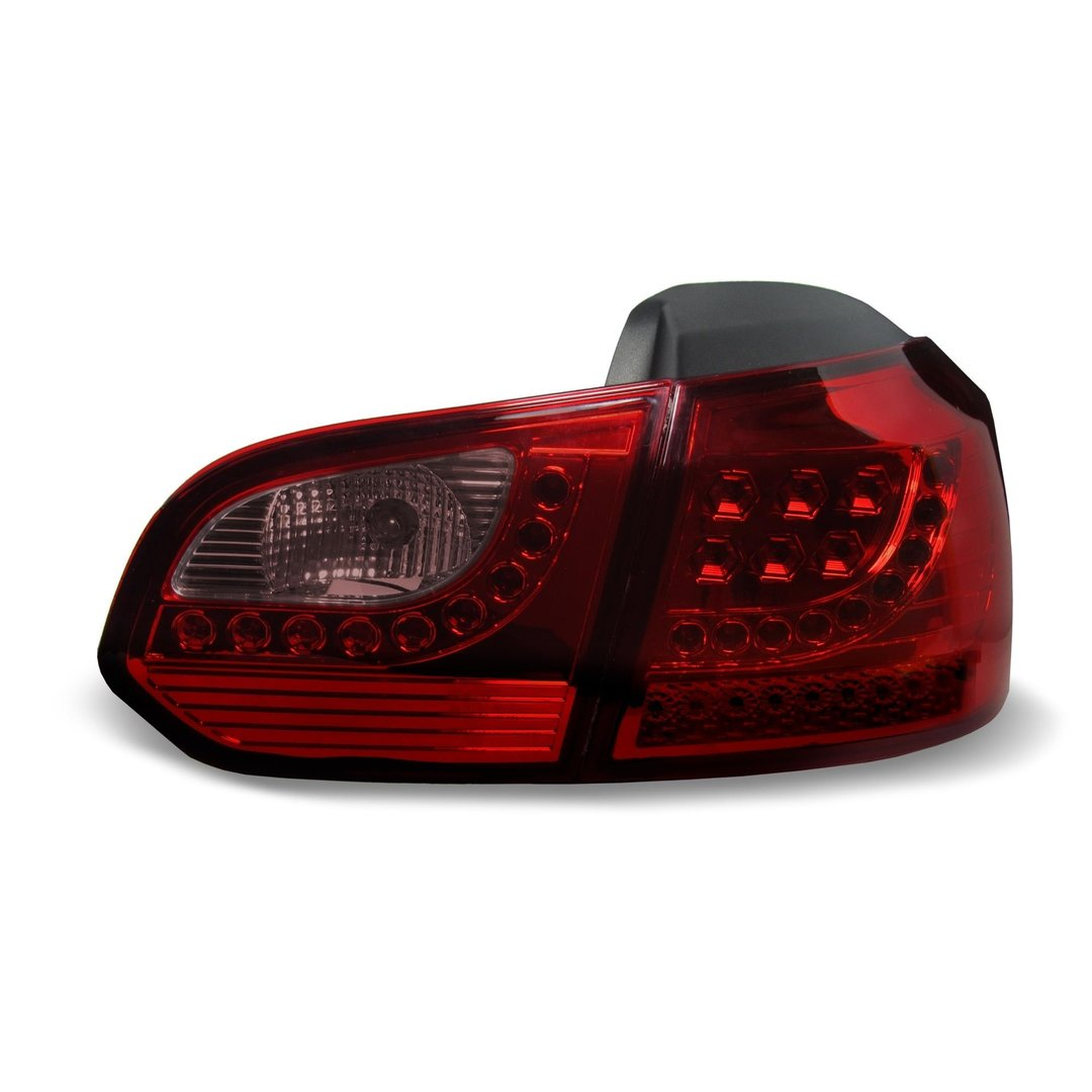 2 feux phare arriere a led vw golf 6 vi tdi. Black Bedroom Furniture Sets. Home Design Ideas