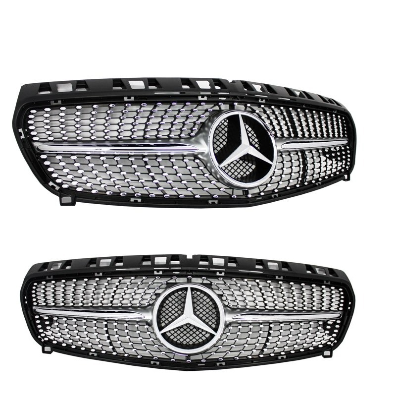 calandre diamant mercedes classe a w176 look amg adtuning france. Black Bedroom Furniture Sets. Home Design Ideas
