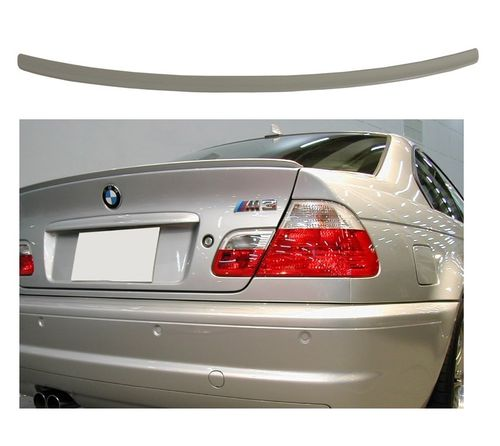 SPOILER / LAME DE COFFRE EN ABS LOOK CSL BMW SERIE 3 E46 BERLINE DE 1998 A 2005