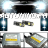 KIT CONVERSION XENON CANBUS : 2 BALLAST 12V 35WATT + 2 AMPOULE HID H7 + 2 VEILLEUSES A LED W5W