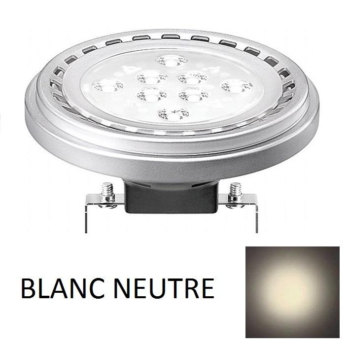 1 ampoule spot led g53 ar111 15w 12v 30 blanc neutre 4200k adtuning france. Black Bedroom Furniture Sets. Home Design Ideas
