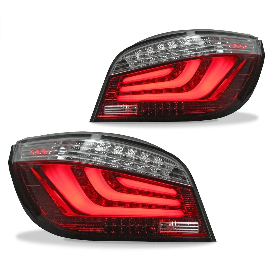 2 Led Tail Lights Bmw 5 Series E60 Sedan 2003 07 Adtuning France
