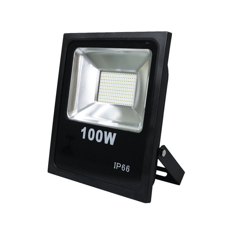 projecteur led 100w 8000 lumens ip66 ultra blanc 6000k adtuning france. Black Bedroom Furniture Sets. Home Design Ideas