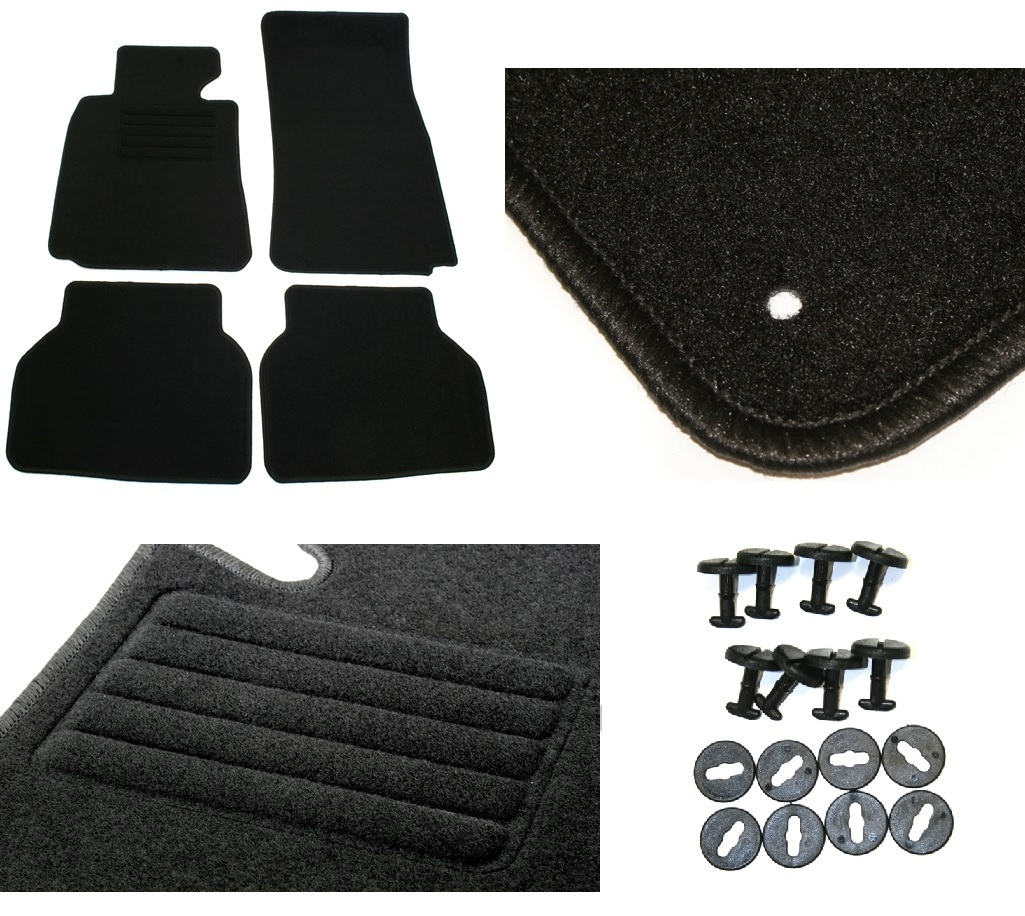 4 tapis de sol sur mesure velours bmw serie 5 e39 phase 1 de 10 1995 a 07 2000 ebay. Black Bedroom Furniture Sets. Home Design Ideas