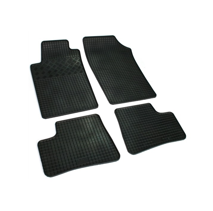 lot de 4 tapis de sol caoutchouc sur mesure peugeot 206 adtuning france. Black Bedroom Furniture Sets. Home Design Ideas
