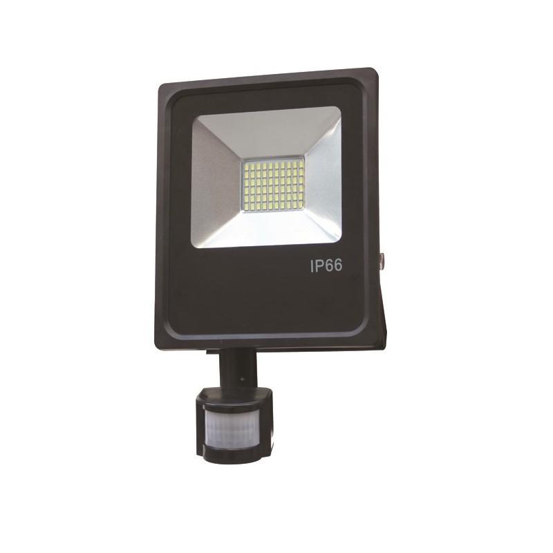 Projecteur led 30w avec detecteur de mouvement waterproof ip66 adtuning france - Projecteur led avec detecteur de mouvement ...
