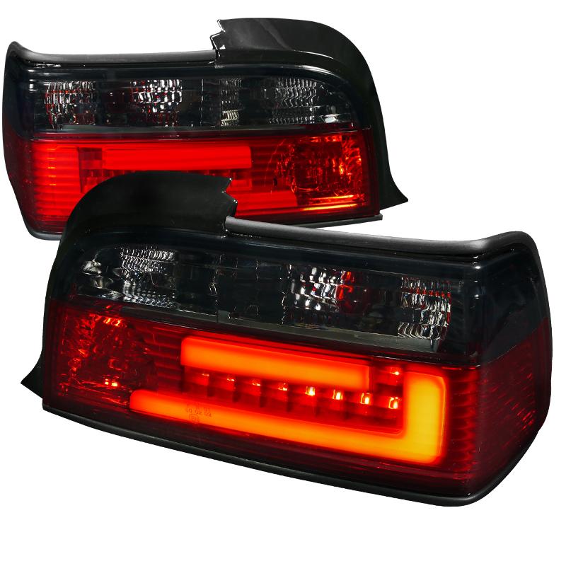 2 feux arriere bmw serie 3 e36 coupe cabriolet a led tfl lightbar adtuning france. Black Bedroom Furniture Sets. Home Design Ideas