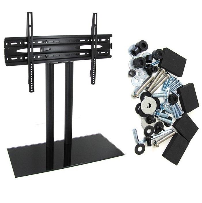 support tv sur pied pour tv plate de 32 a 65 pouce. Black Bedroom Furniture Sets. Home Design Ideas