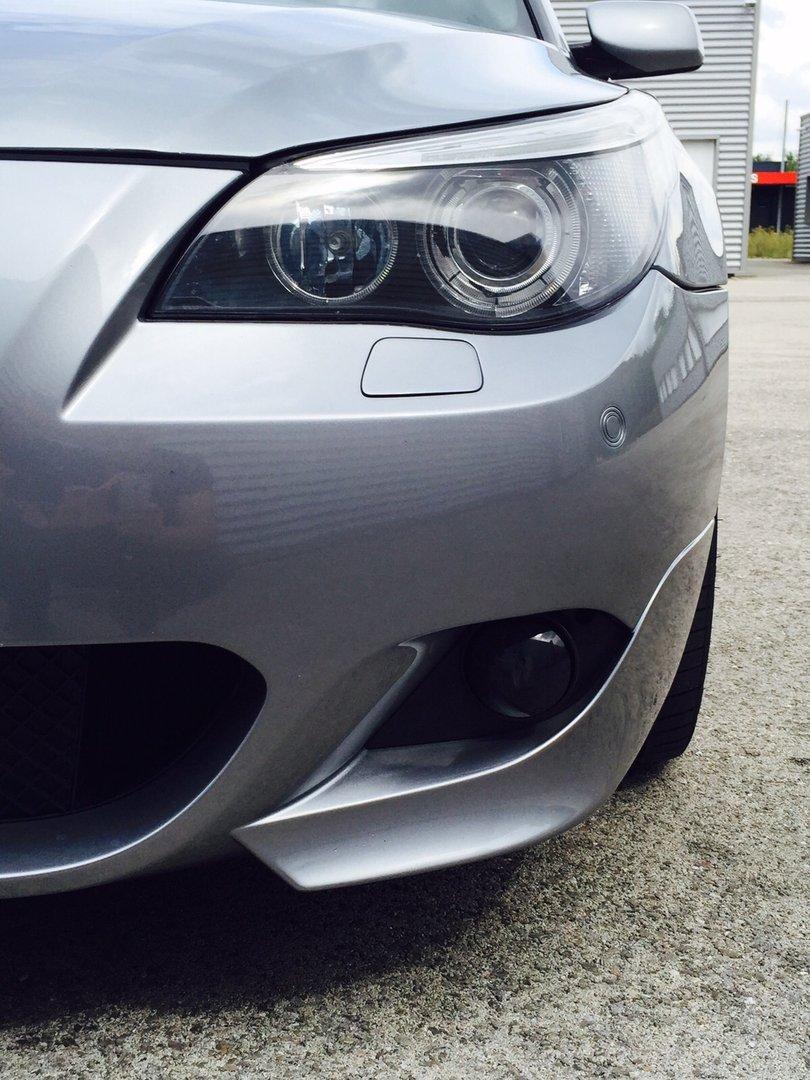 2 ANTIBROUILLARD NOIR BMW SERIE 5 E60 E61 X3 E83 04-06 SERIE 6 E63 E64
