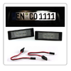 2 MODULE LED PLAQUE A 3 LED LUXEON BMW SERIE 1 & 6 E81 E87 E63 E64 F20