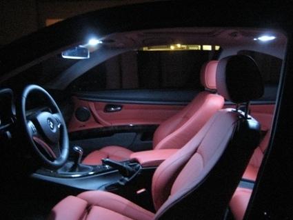 Verrassend PACK 19 AMPOULE A LED BLANC XENON INTERIEUR ET EXTERIEUR BMW SERIE LU-84